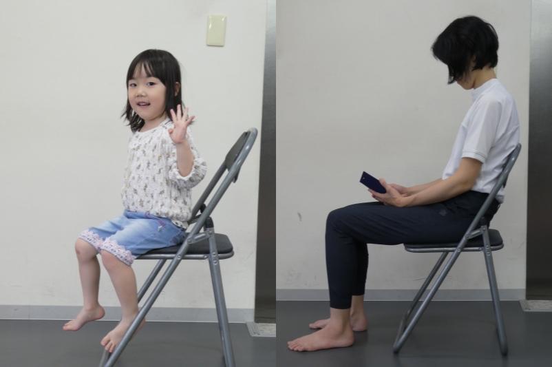 年齢による姿勢